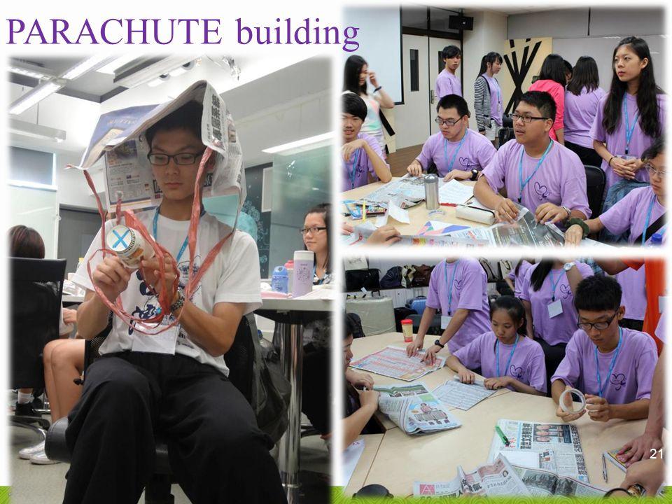PARACHUTE building 21
