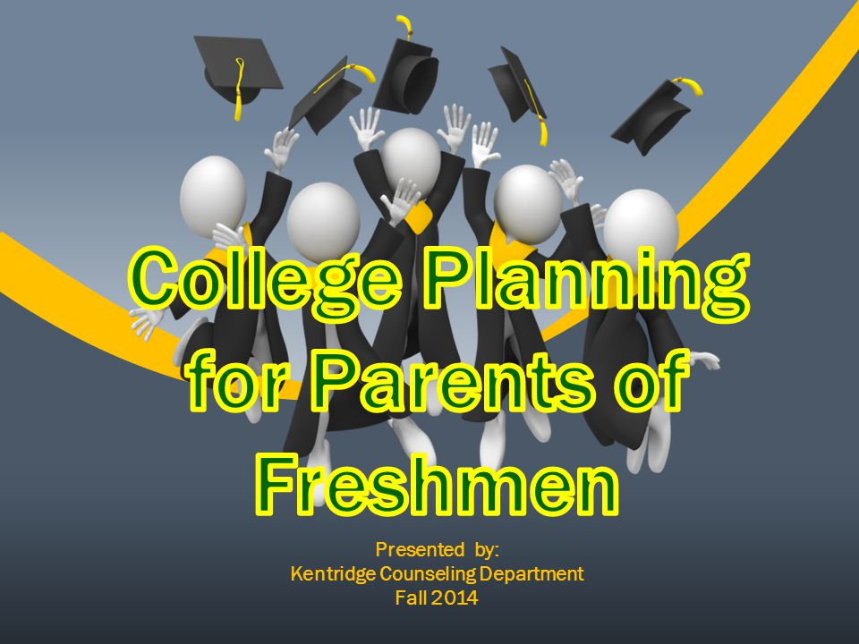 The importance of continuing education beyond high School High School is Job One - Culminating Project – the Freshman year - Discovering Career Pathways - Creating the 4-year plan What's after High School What can you do to support your student?