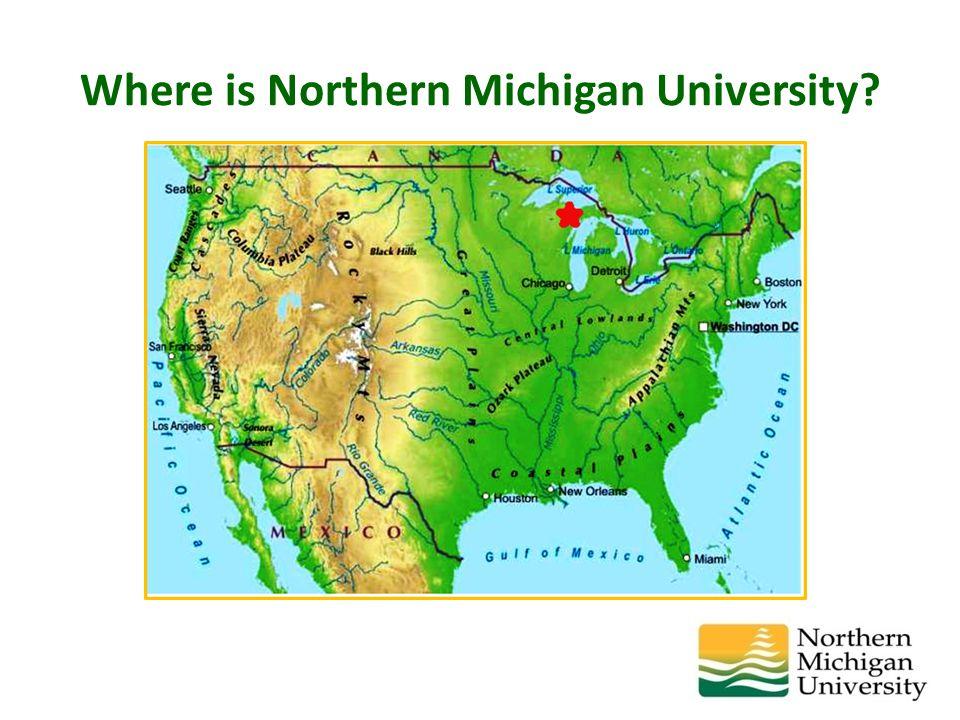 Where is Northern Michigan University