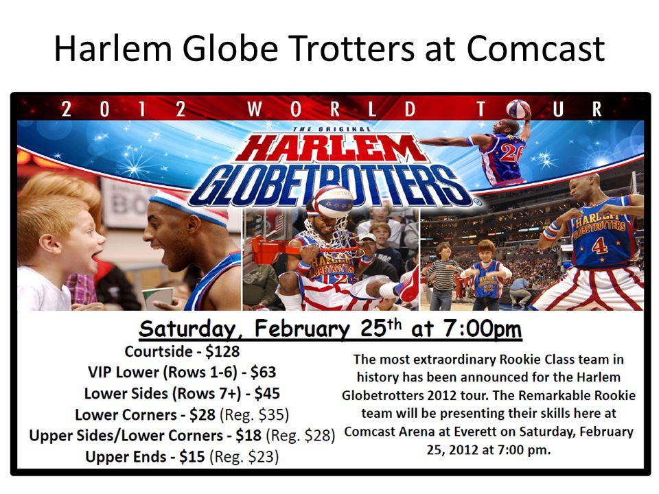 Harlem Globe Trotters at Comcast
