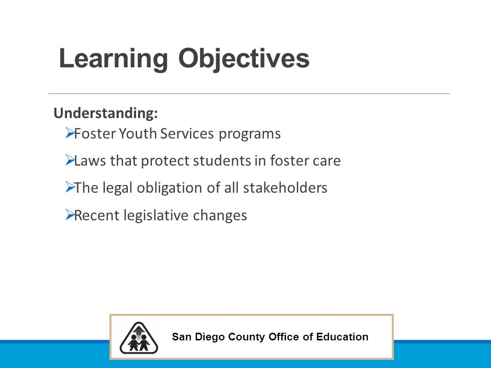 San Diego County Office of Education AB 1455 (Campos D) Pupils: bullying: counseling services.