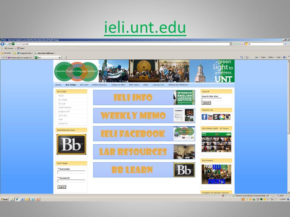 ieli.unt.edu