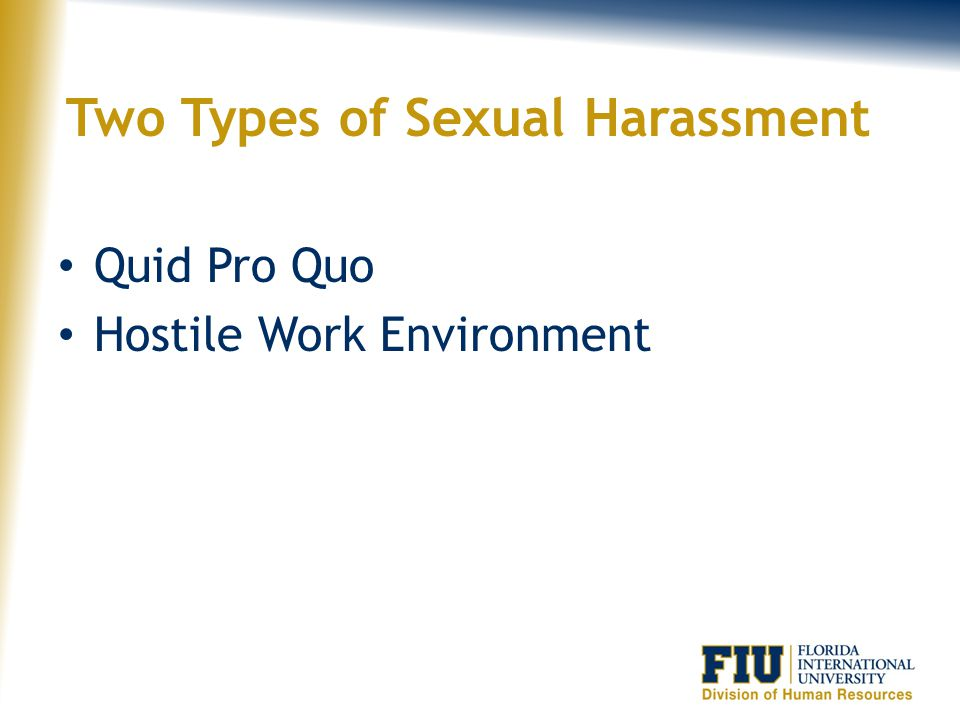 Definition of Sexual Harassment Unwelcome sexual advances, requests for sexual favors, and other verbal, physical or pictorial conduct of a sexual nature