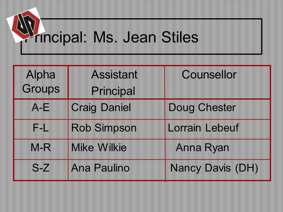 Principal: Ms.