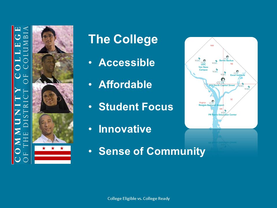 College for a Day Program Dynamic and exciting program that serves as an introduction to higher education.