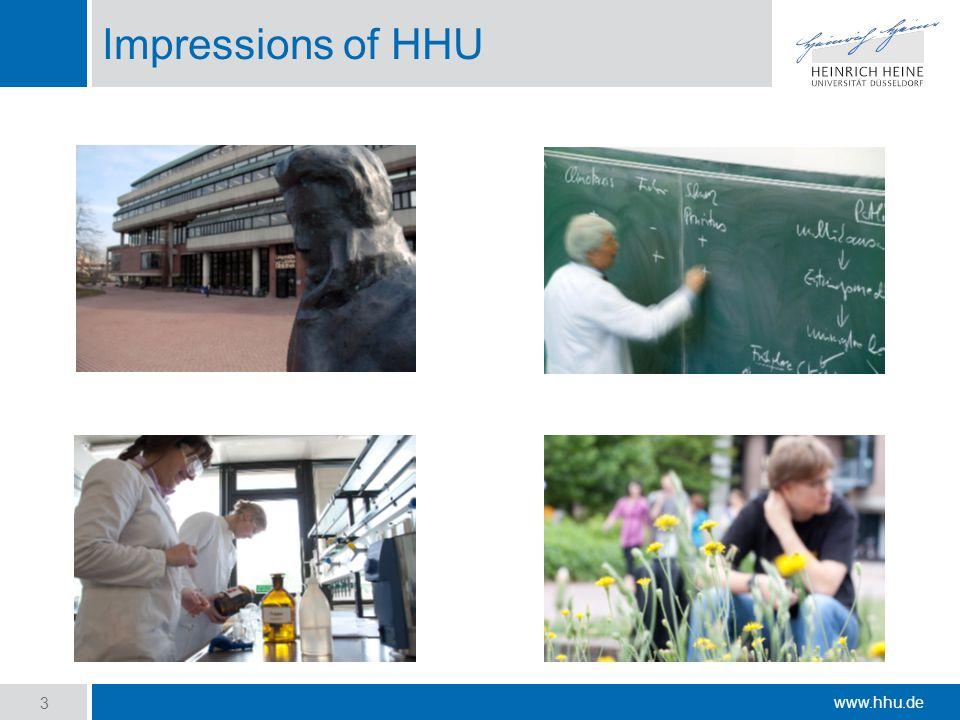 www.hhu.de Impressions of HHU 3