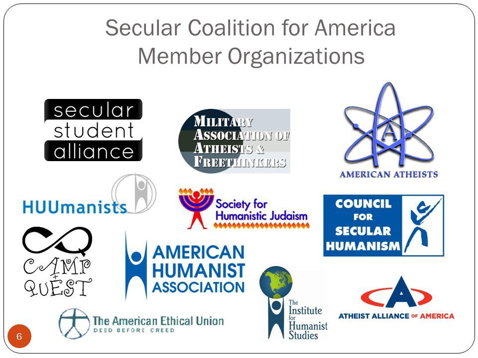 Secular Coalition for America Member Organizations 6