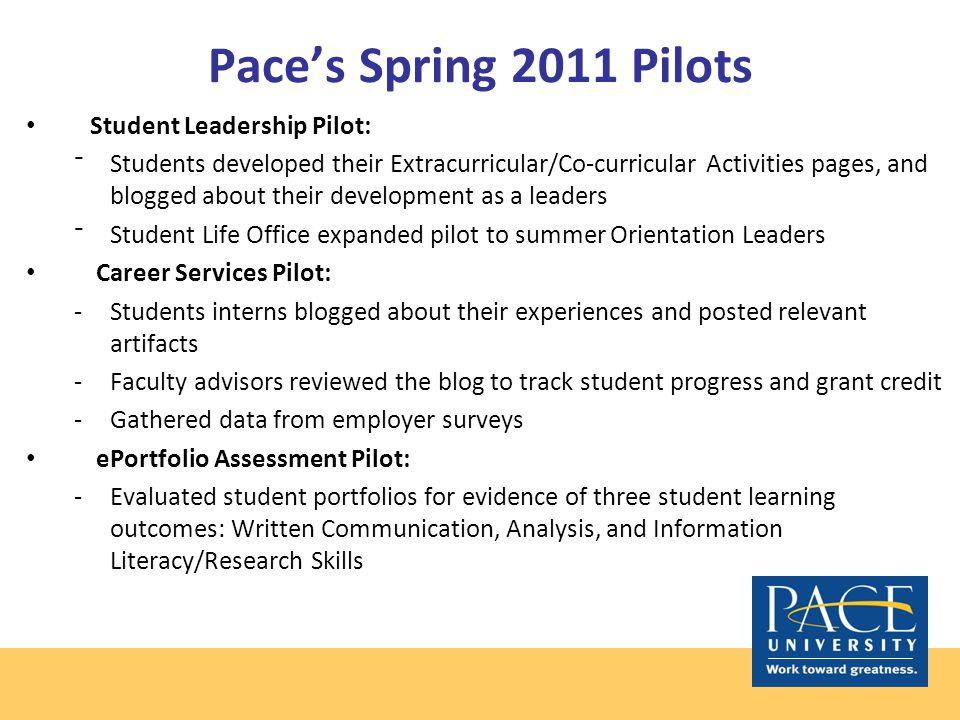 Student Leader Portfolio