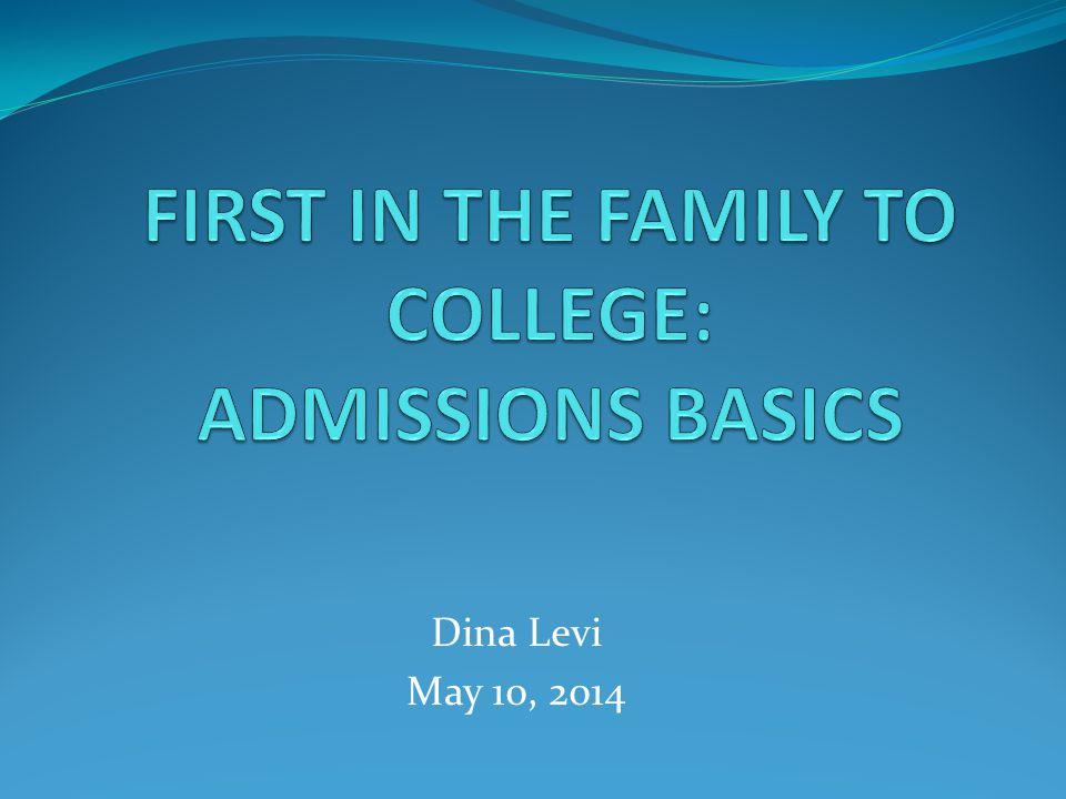 Dina Levi May 10, 2014
