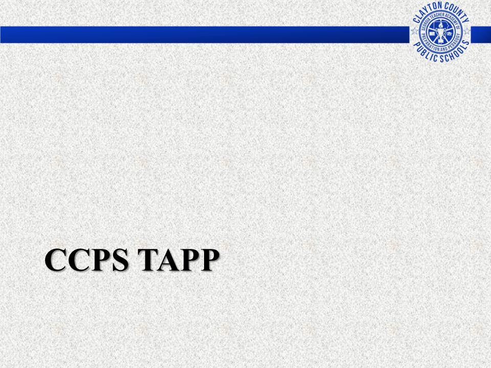 CCPS TAPP