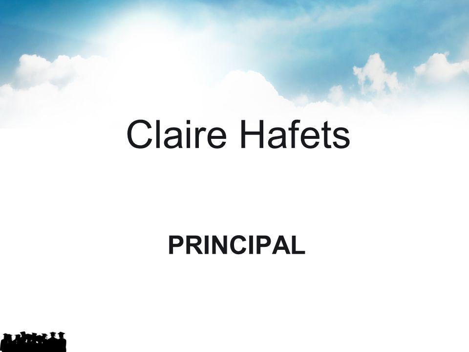 PRINCIPAL Claire Hafets