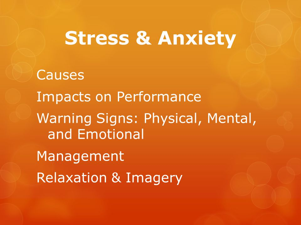 Stress  Have you ever heard, teens have it easy, since they don t have to deal with grown-up issues.