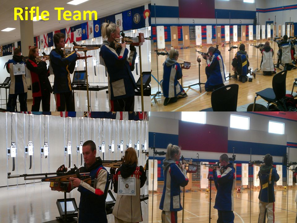 Air Rifle Team Team competes in both JROTC and Georgia High School Varsity Competitions. New Rifle Range at ULHS Rifle Team