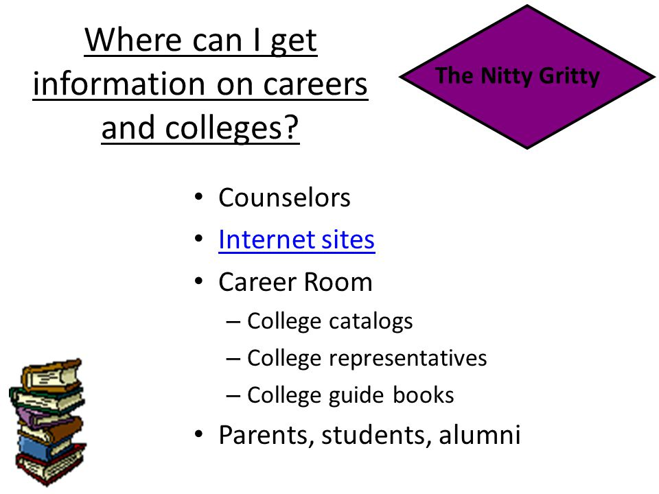 Where can I get information on careers and colleges.