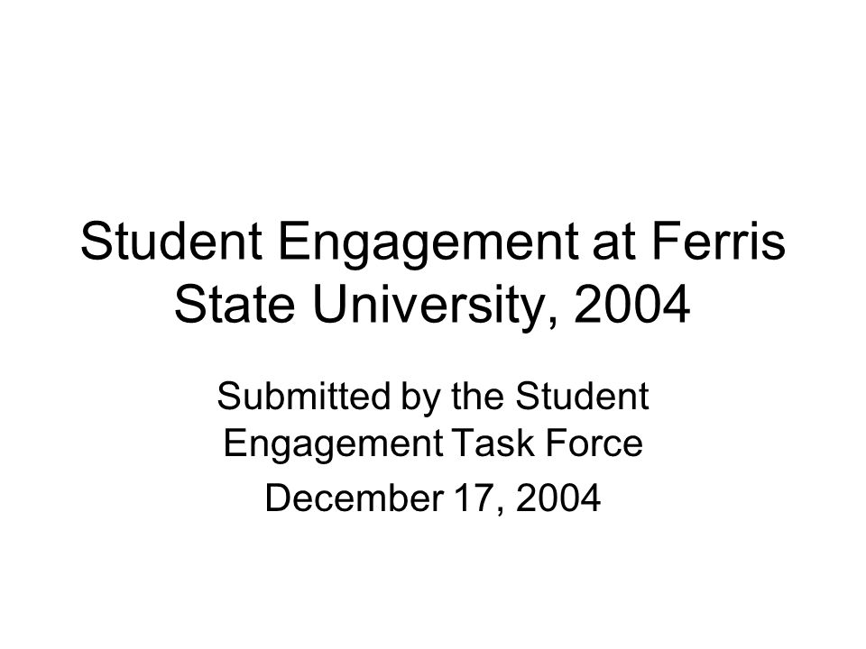Some New Ideas – Use Students Use feedback from attendees to inform future directions.