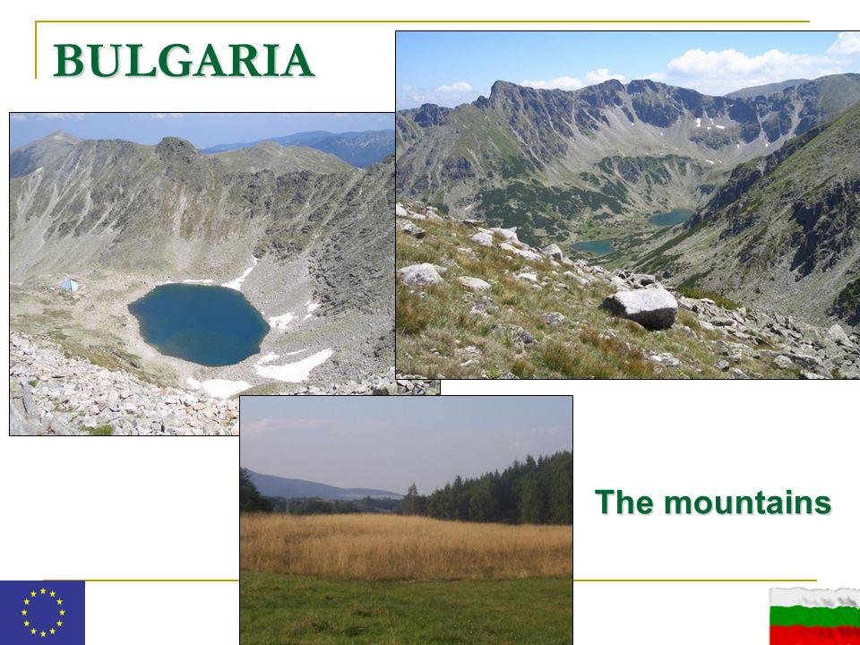 BULGARIA The mountains