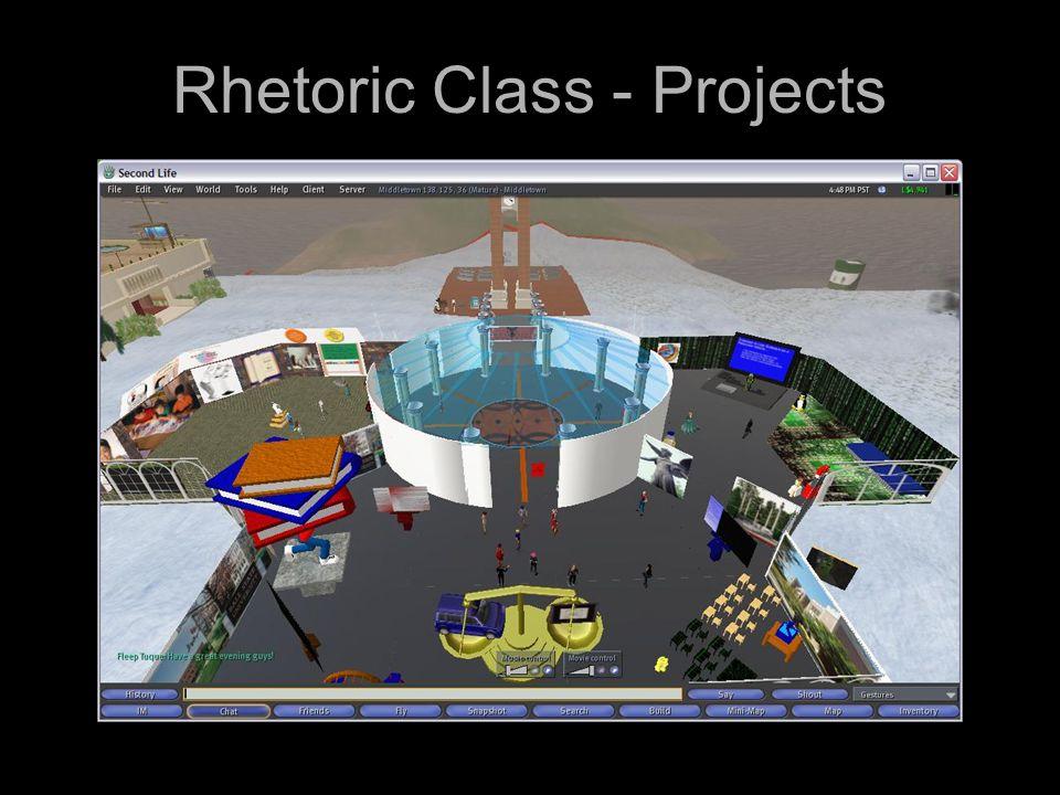 Rhetoric Class - Projects