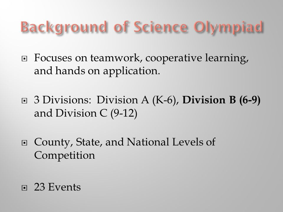  Focuses on teamwork, cooperative learning, and hands on application.