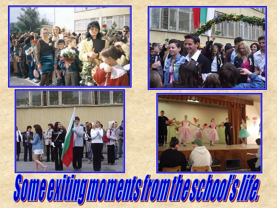 There are 1252 students in 55 classes in the144th Secondary School Narodni Buditeli now.