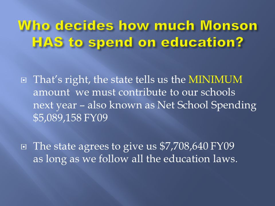  Good schools add to property value, bad schools lower property value.
