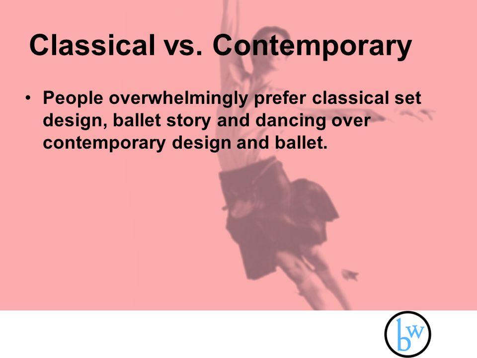 Classical vs.