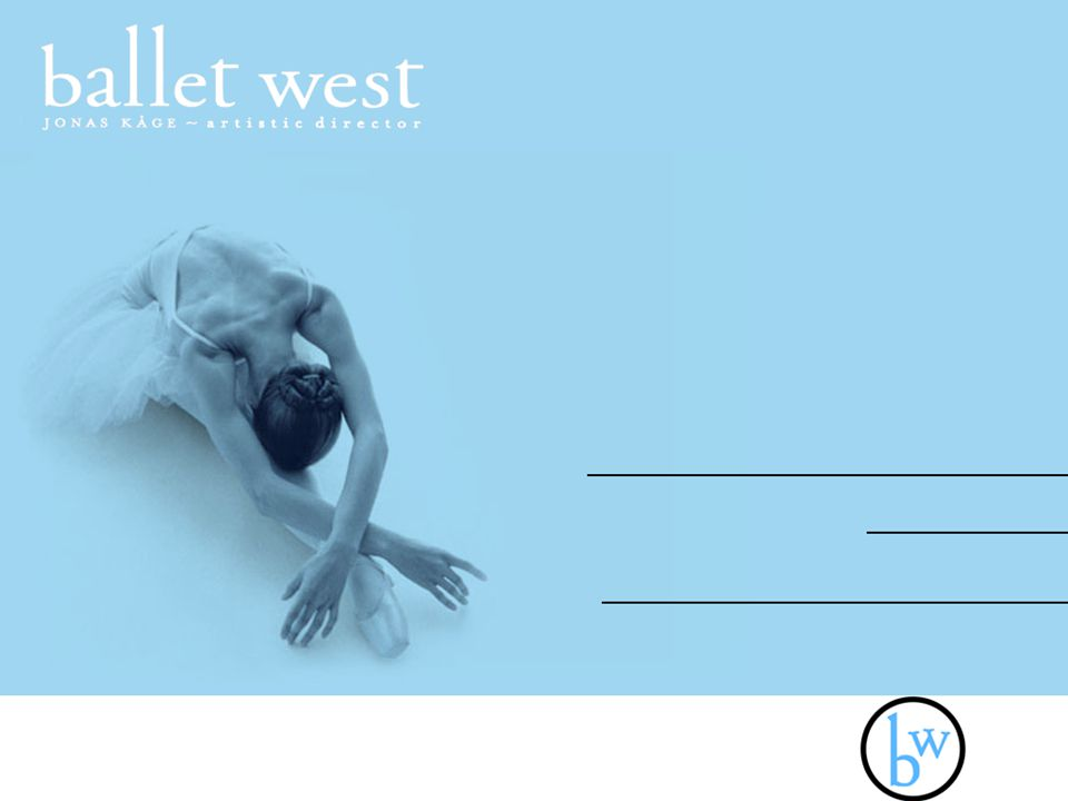 Media Objectives The main objective is to be visible to college students, without abandoning the older patrons of Ballet West.