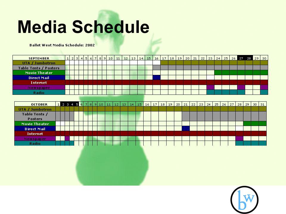Media Schedule