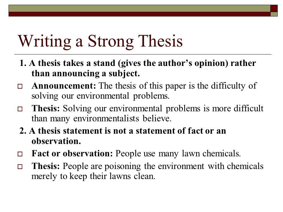 Essay Writing On Environment