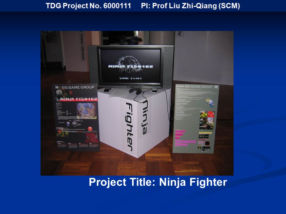 Project Title: Ninja Fighter