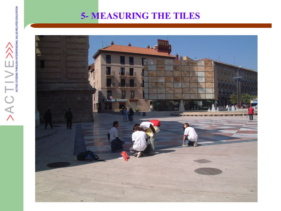 5- MEASURING THE TILES
