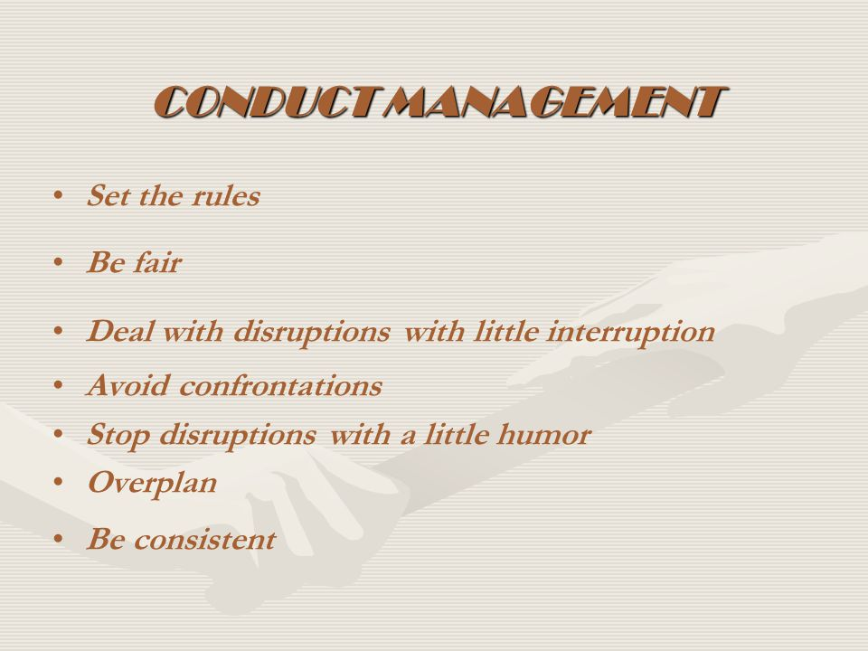 COVENANT MANAGEMENT 1.