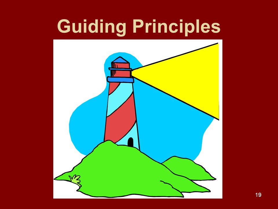 19 Guiding Principles