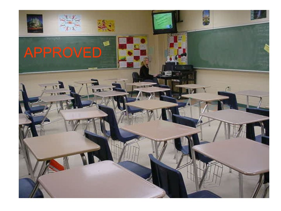 USABLE CLASSROOM SPACE What determines a usable classroom.
