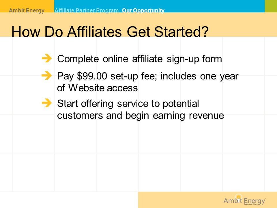 How Do Affiliates Get Started.