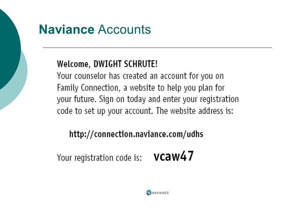 Naviance Accounts