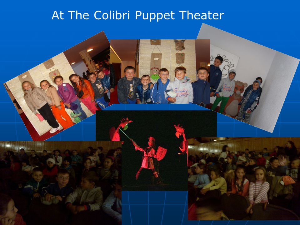 At The Colibri Puppet Theater