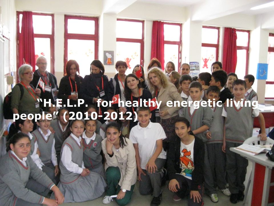 """H.E.L.P. for healthy energetic living people"" (2010-2012)"