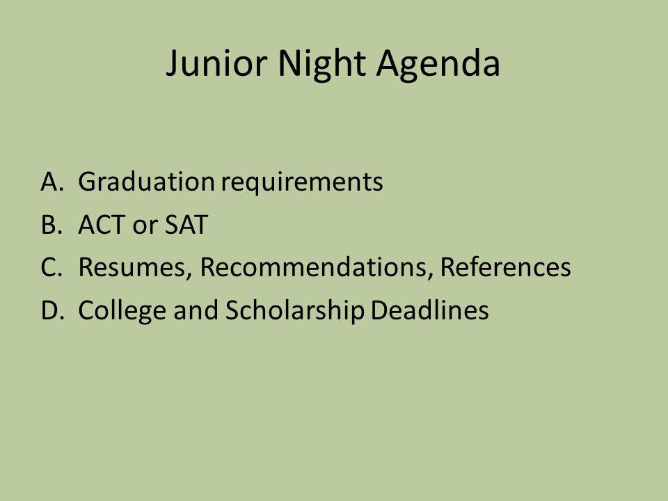 Junior Activities/Announcements Greg McCullough Principal