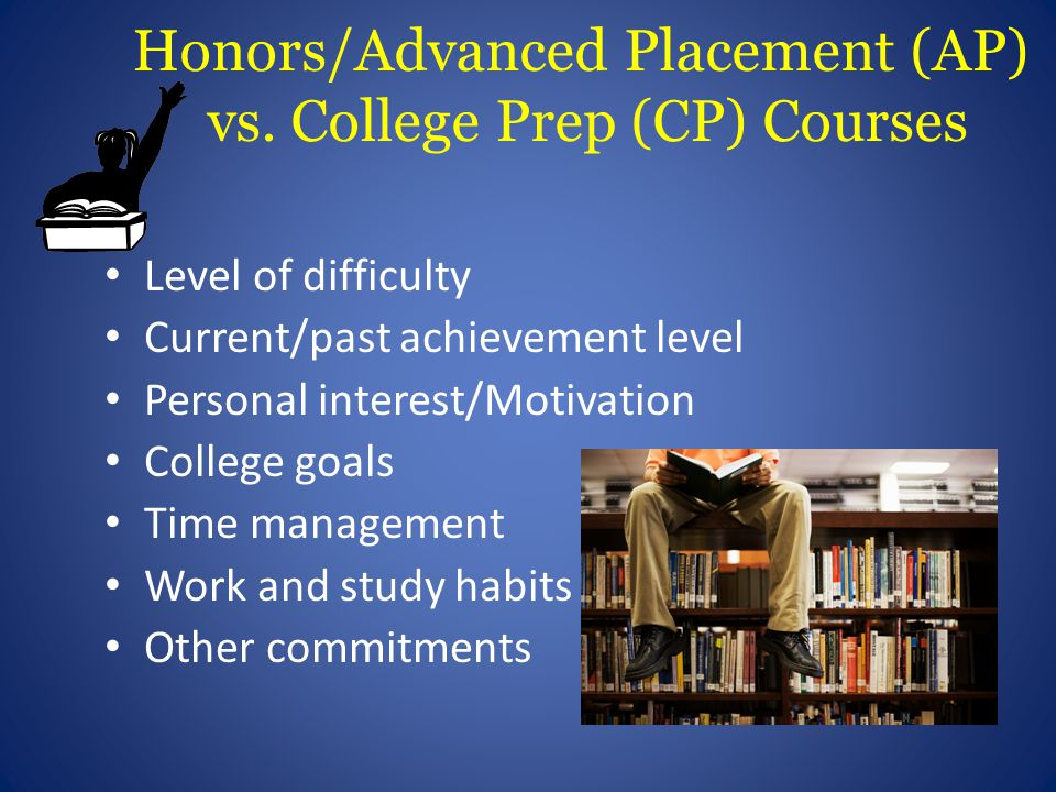 Honors/Advanced Placement (AP) vs.