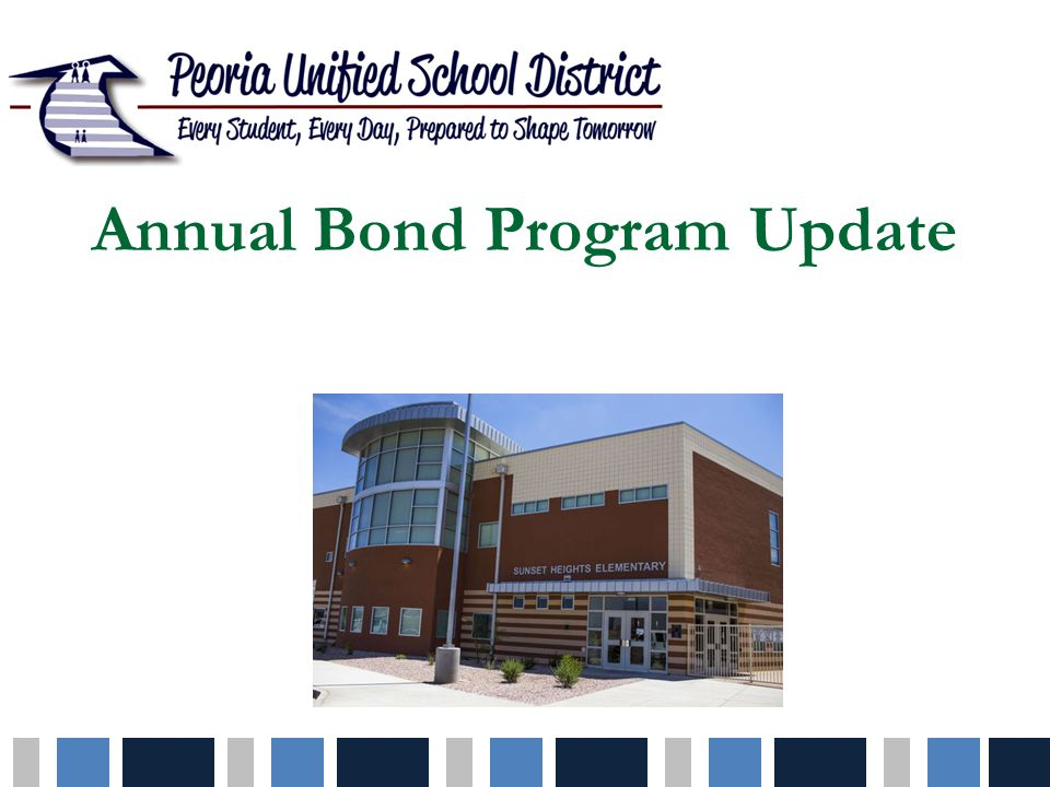 Bond Program Background $93.5 million authorized in 2002 $120.5 million authorized in 2005 $180 million authorized in 2012