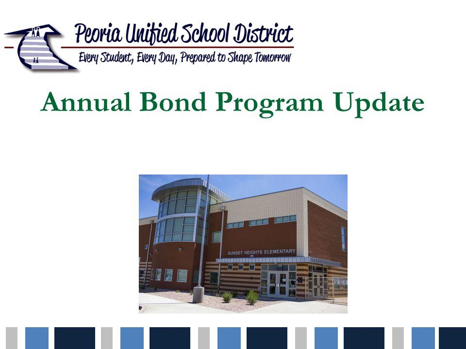 Annual Bond Program Update