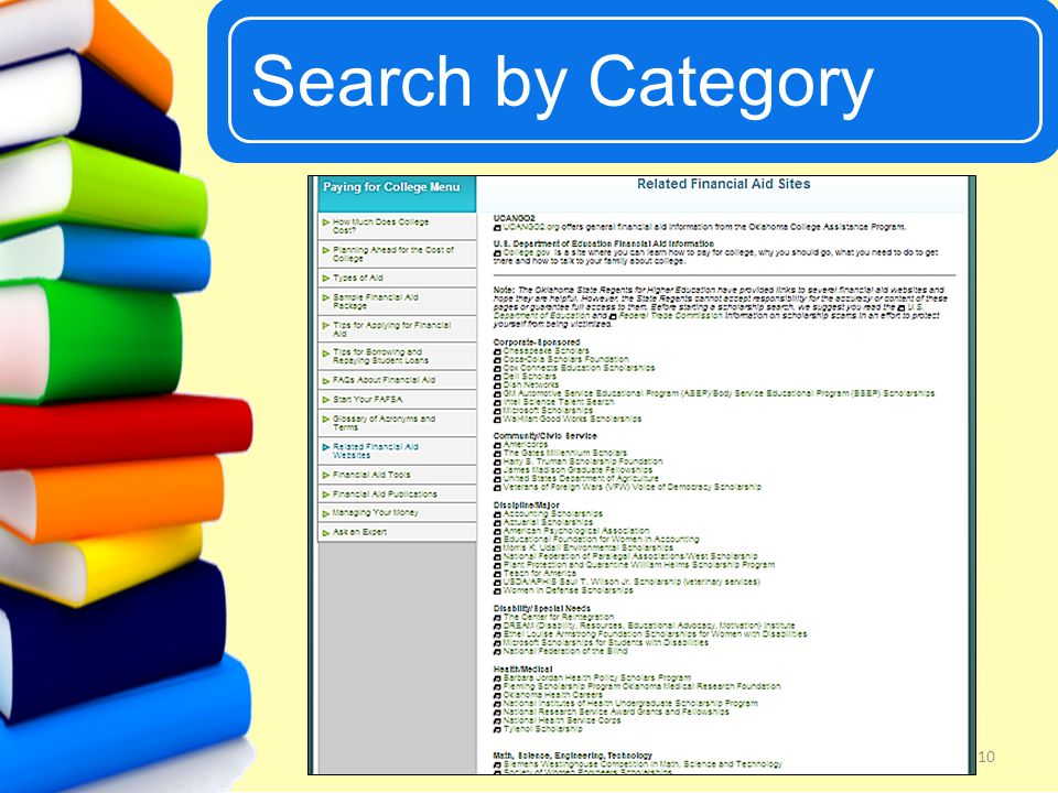UCanGo2 Search by Category 10