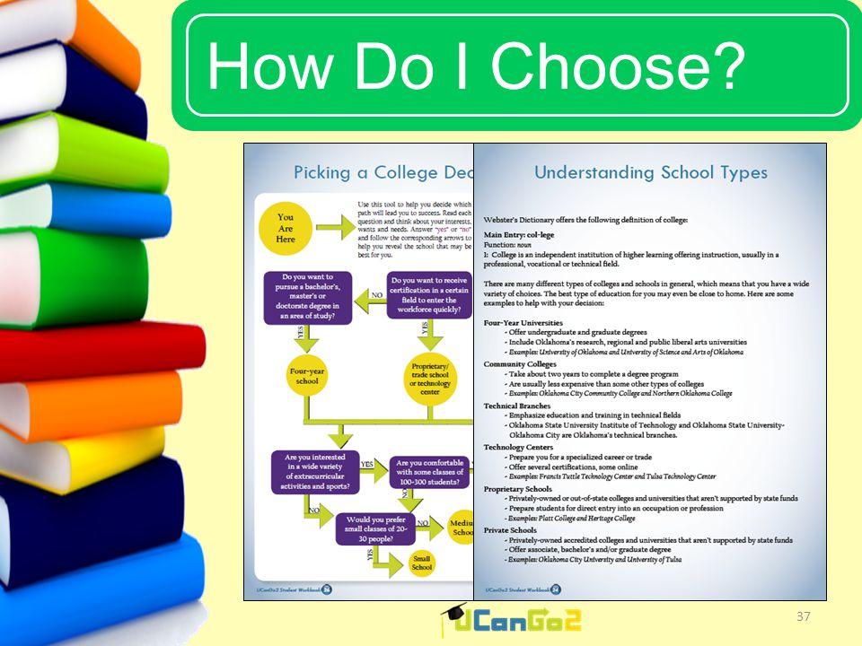 UCanGo2 How Do I Choose 37