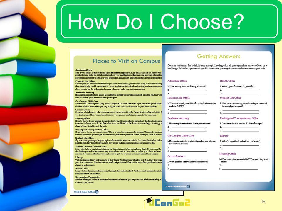 UCanGo2 How Do I Choose 38