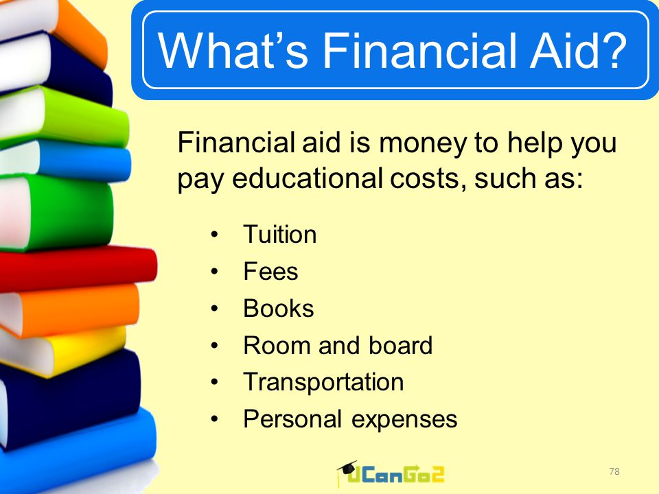 UCanGo2 What's Financial Aid.