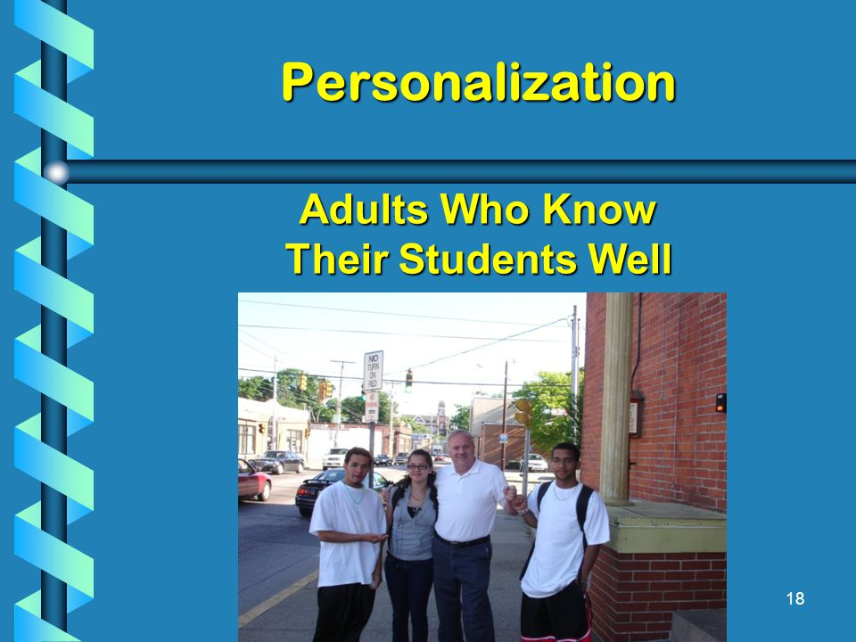 Personalization 18 Adults Who Know Their Students Well
