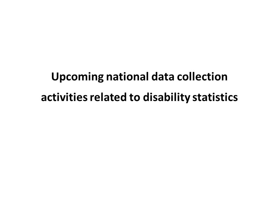 Type of data collection Summary Statistics # of countries CensusSurvey Admin.