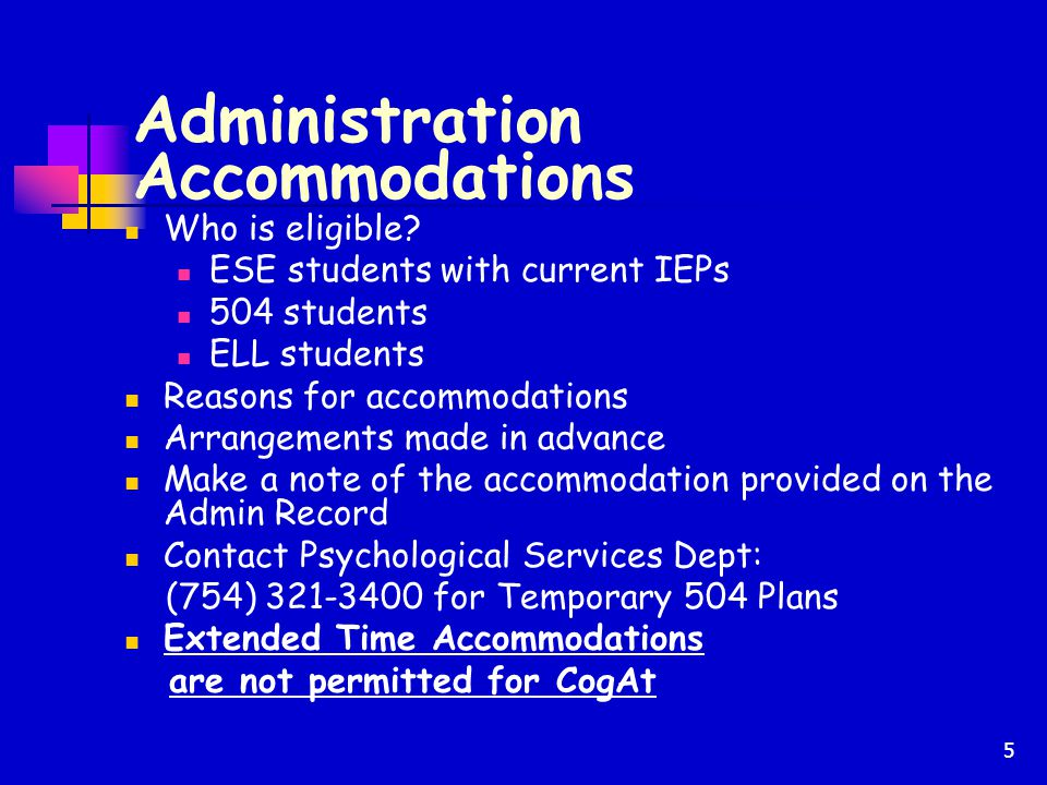 26 Contact Information Student Assessment and Research (754) 321-4250 Department of Math, Science and Gifted (754) 321-2119