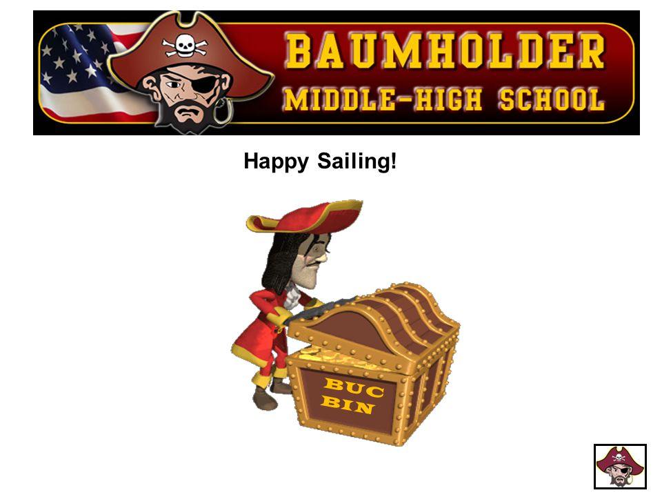 Happy Sailing! BUC BIN