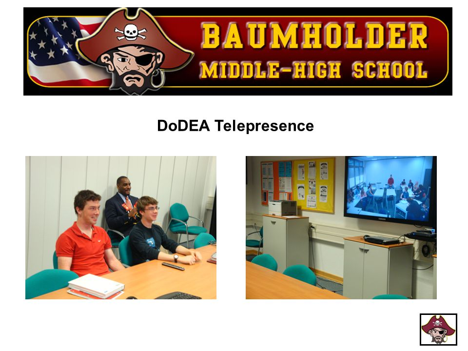 DoDEA Telepresence